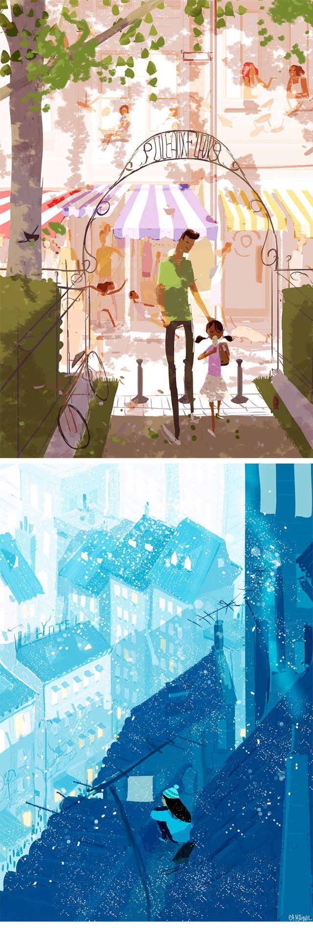 by the great Pascal Campion! ^-^  champion in illustration lightning!