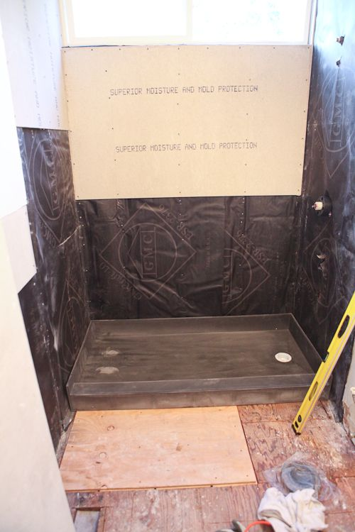 tileredi bathroom shower pan 2