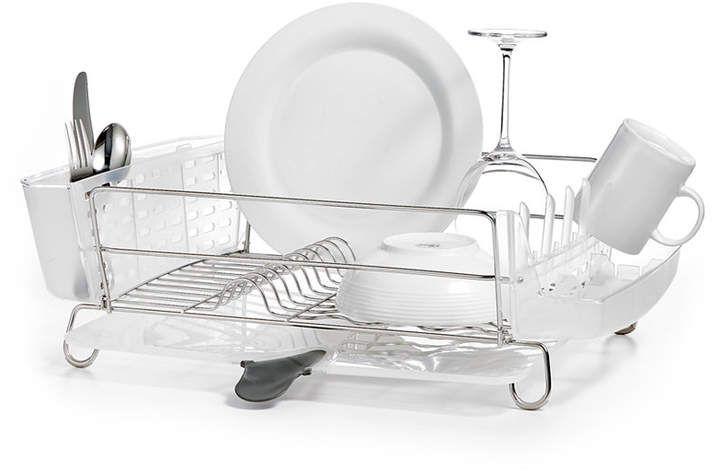 Oxo Dish Rack Folding Stainless Steel Dish Racks Stainless