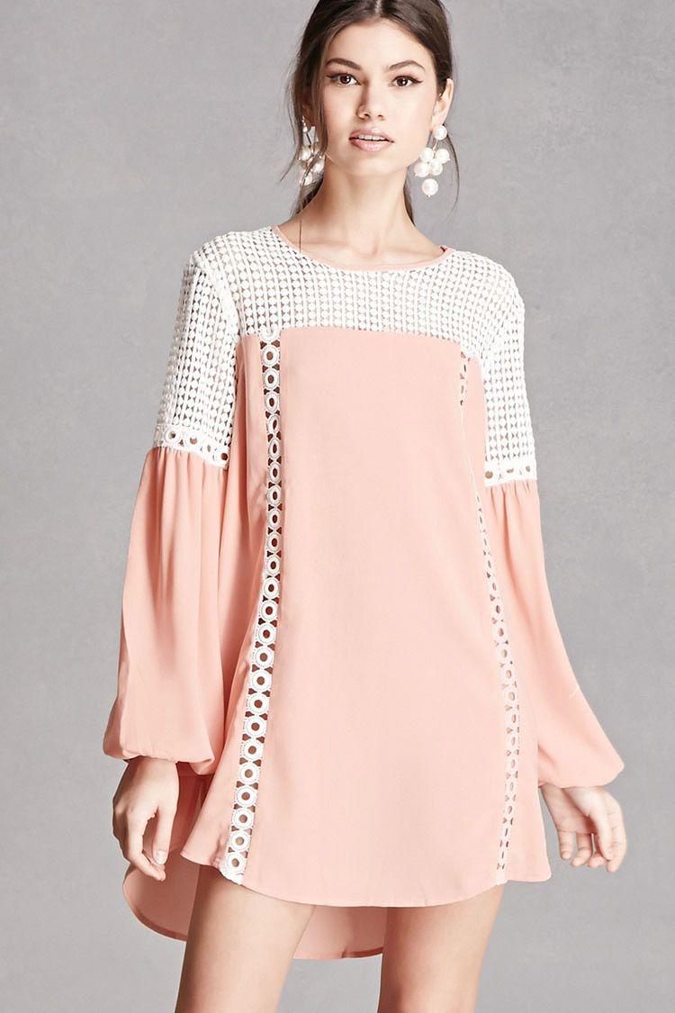 Crochet Cutout Mini Dress | Lily | Pinterest | Vestiditos
