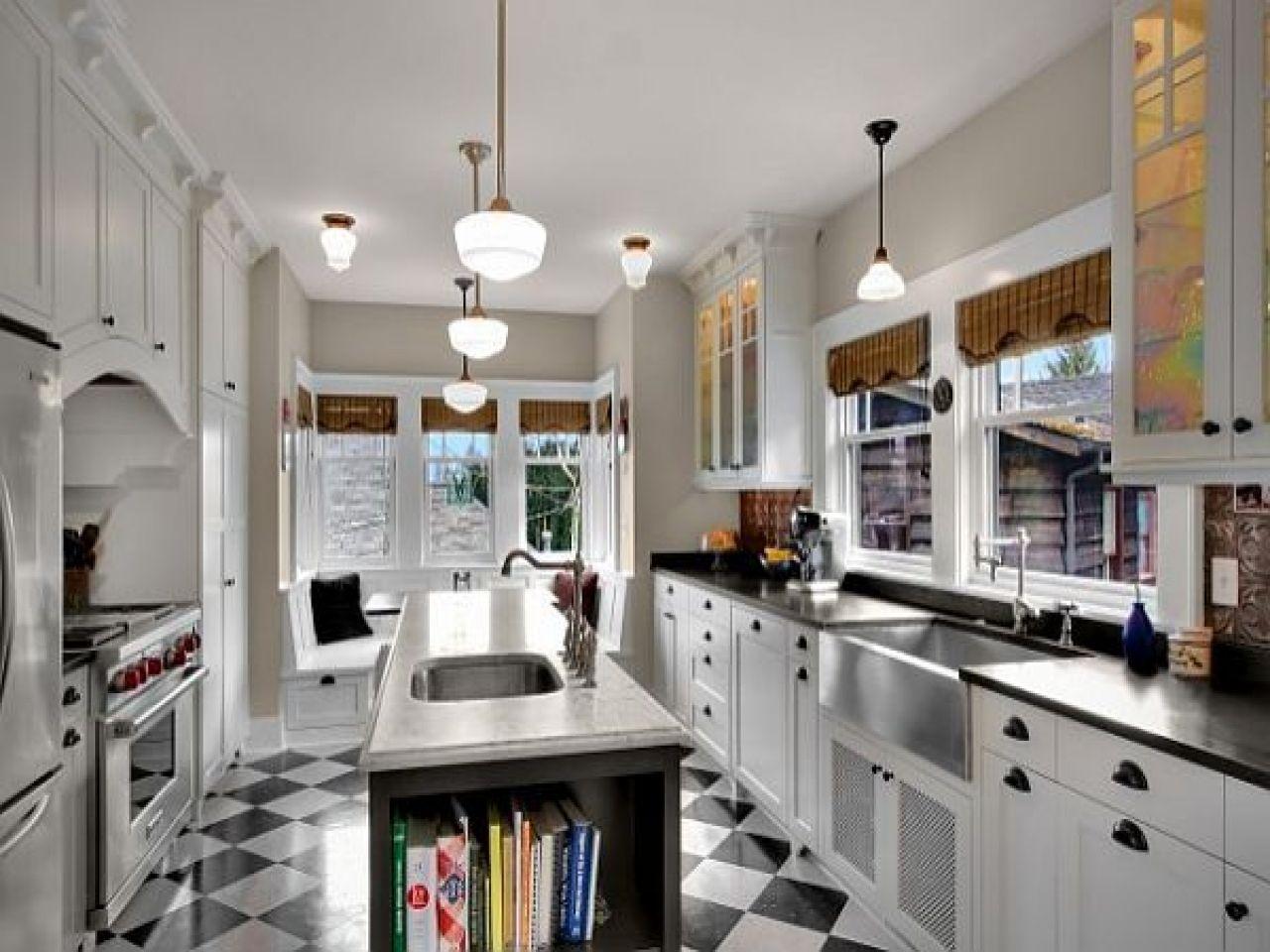 Image Result For Black And White Kitchen Floor