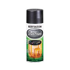 Rust-Oleum® Specialty Chalk Board Spray converts surfaces ...