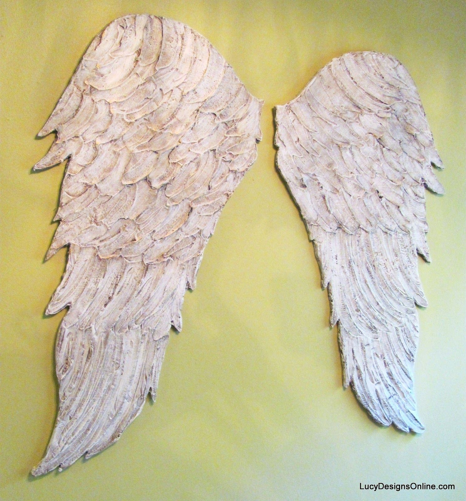 large distressed wood angel wings | Wings ☁♥ | Pinterest | Angel ...