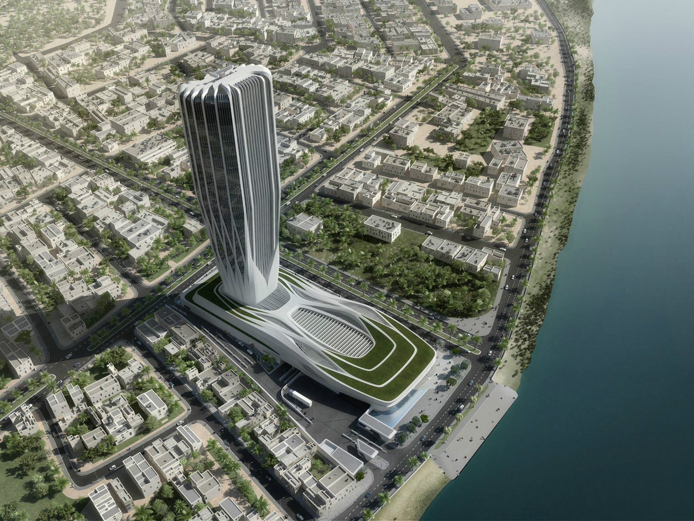 Central Bank Of Iraq Courtesy Zaha Hadid Architects