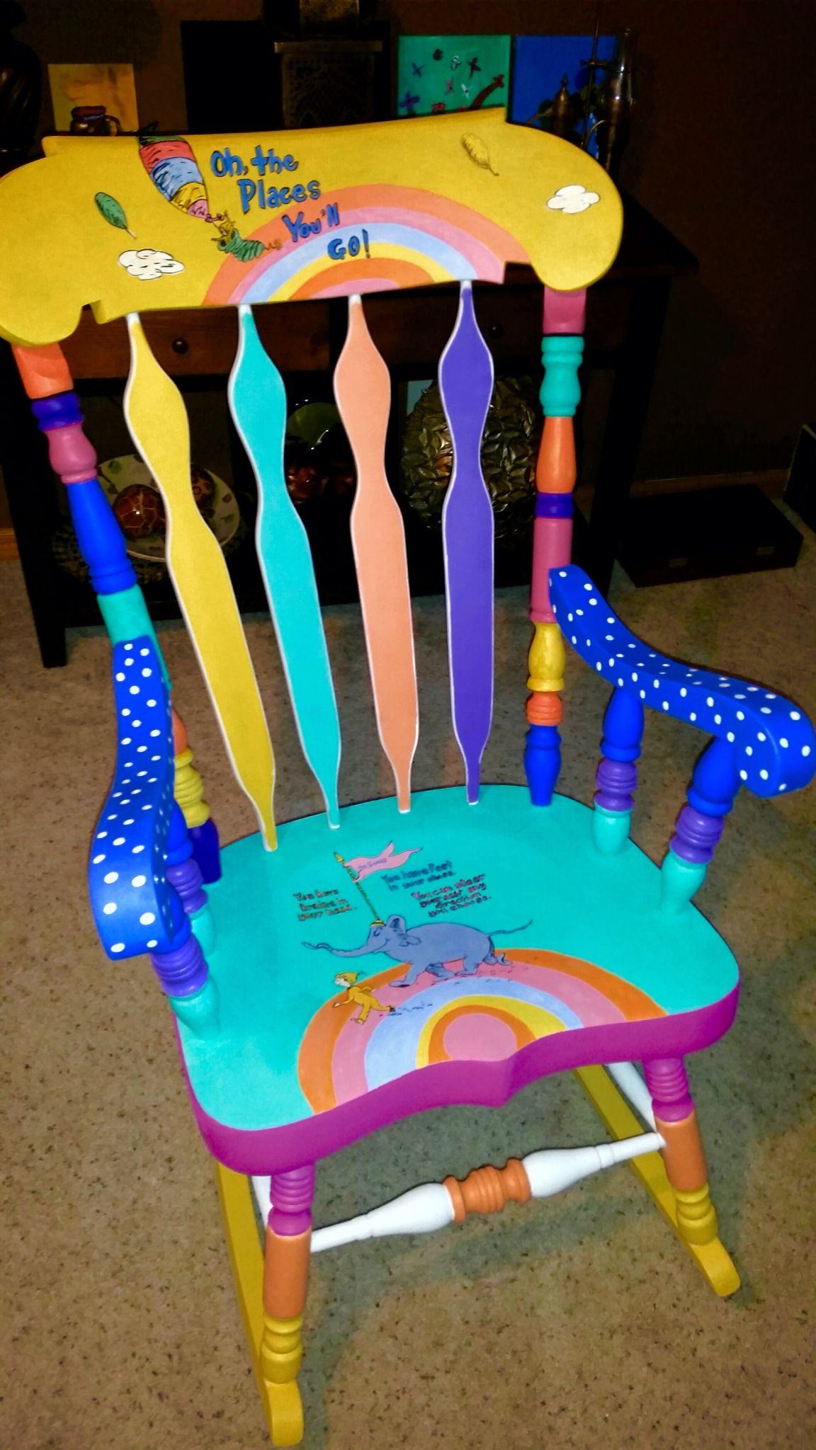Teacher Chair Painted Furniture Pinterest Teacher