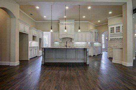 Dream like the open concept and the neutral for Neutral kitchen paint colors