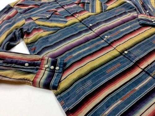 Polo-Ralph-Lauren-Men-Southwestern-Indian-Navajo-Tribal-Jacquard-Weatern-Shirts