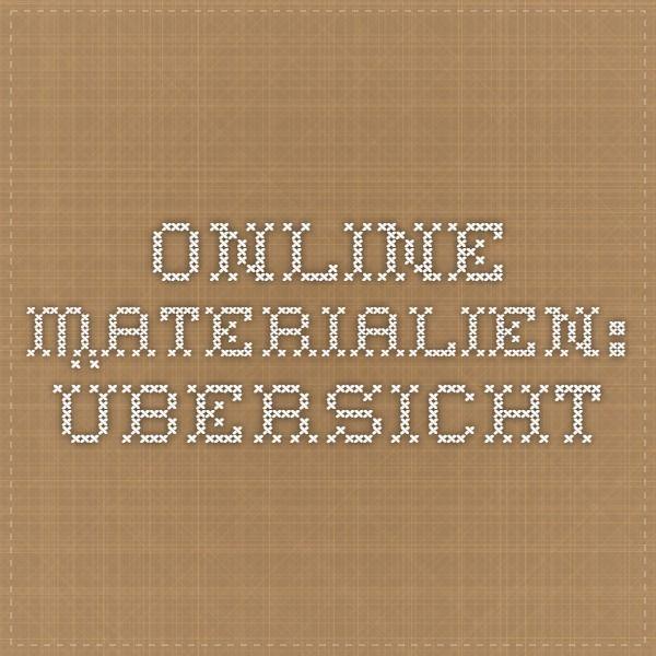 online materialien bersicht deutsch arbeitsbl tter deutsch und aufsatz. Black Bedroom Furniture Sets. Home Design Ideas