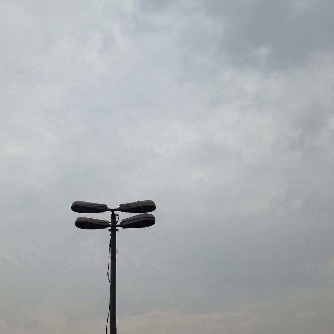 Poste de hoje: um dia nublado.