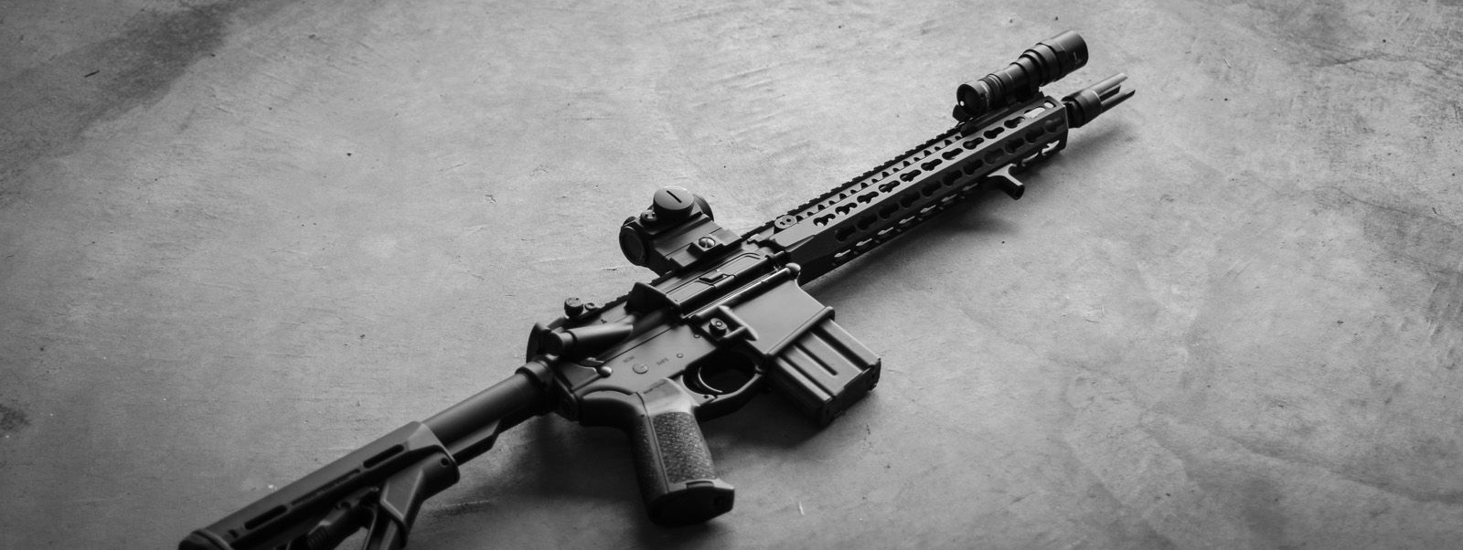 """Complete BCM 11.5"""" SBR with Arisaka 300 Series Light Body, Inline Scout Mount, and Finger Stop."""