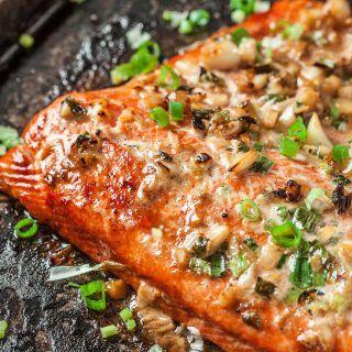 Asian Baked Salmon Recipe and Boston Marathon 2018