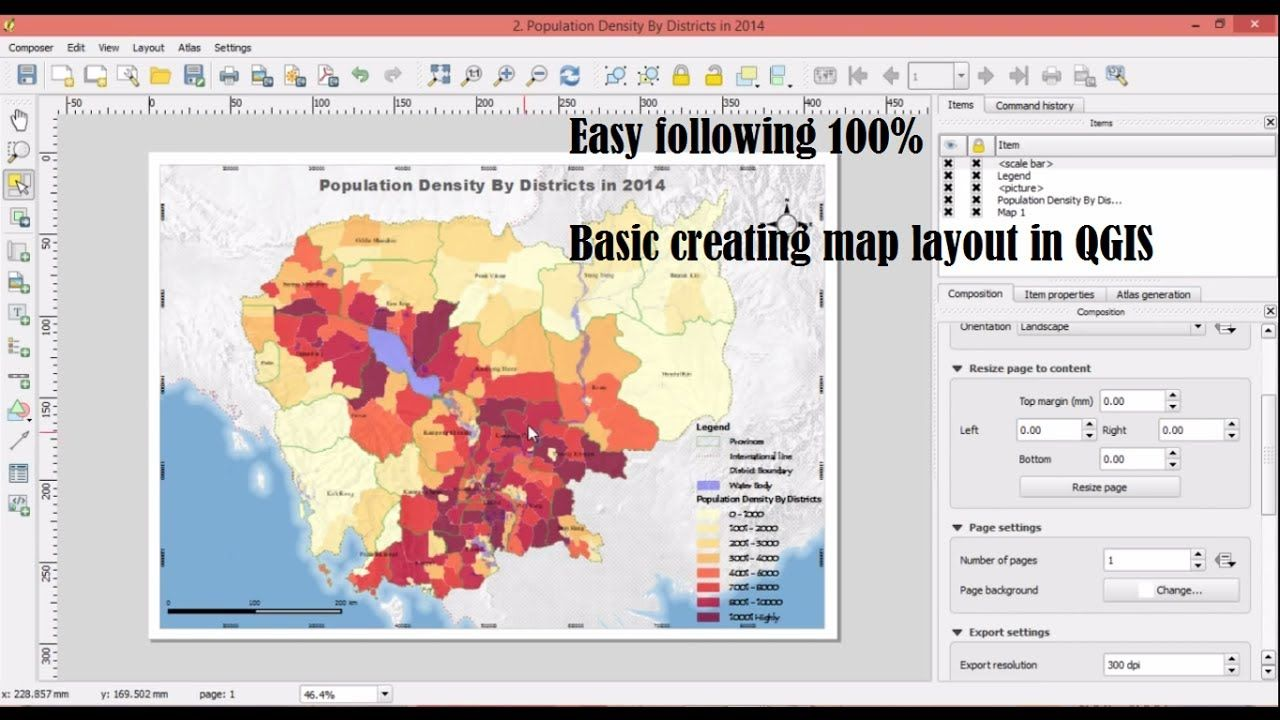 Creating map layouts in qgis geospatial gis pinterest layouts creating map layouts in qgis gumiabroncs Images