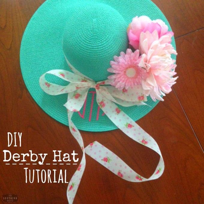 Life Hacks Diy Kentucky Derby Hat Derby Hats Kentucky
