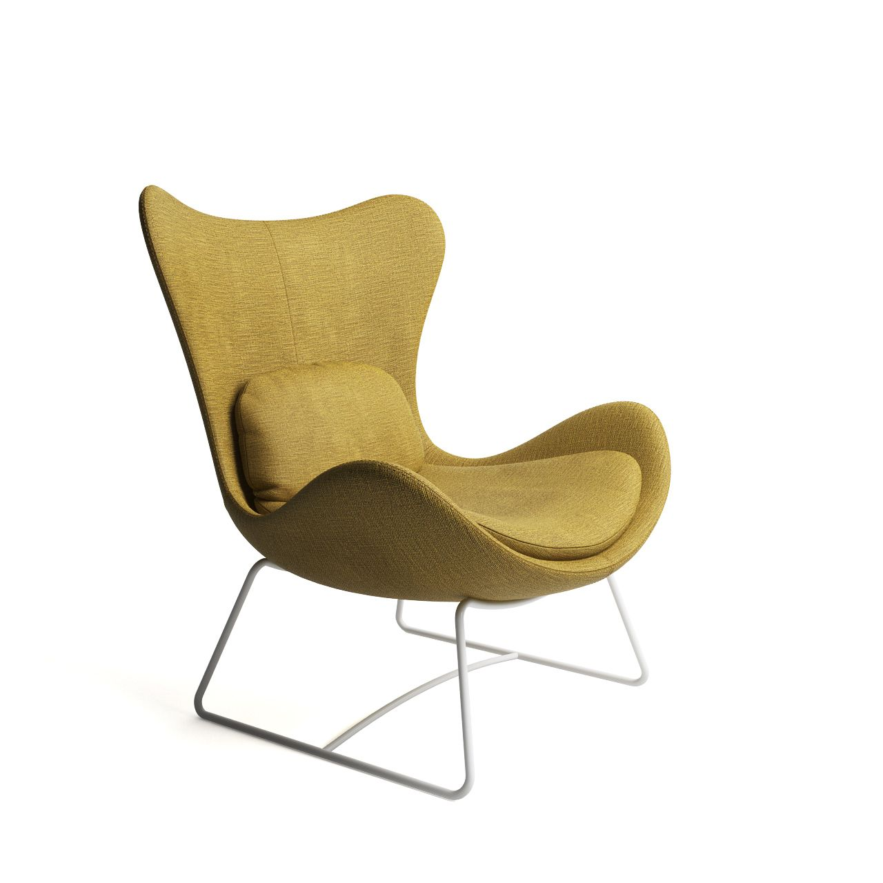 Pleasant Lazy Armchair By Calligaris Chair Eames Dining Chair Machost Co Dining Chair Design Ideas Machostcouk