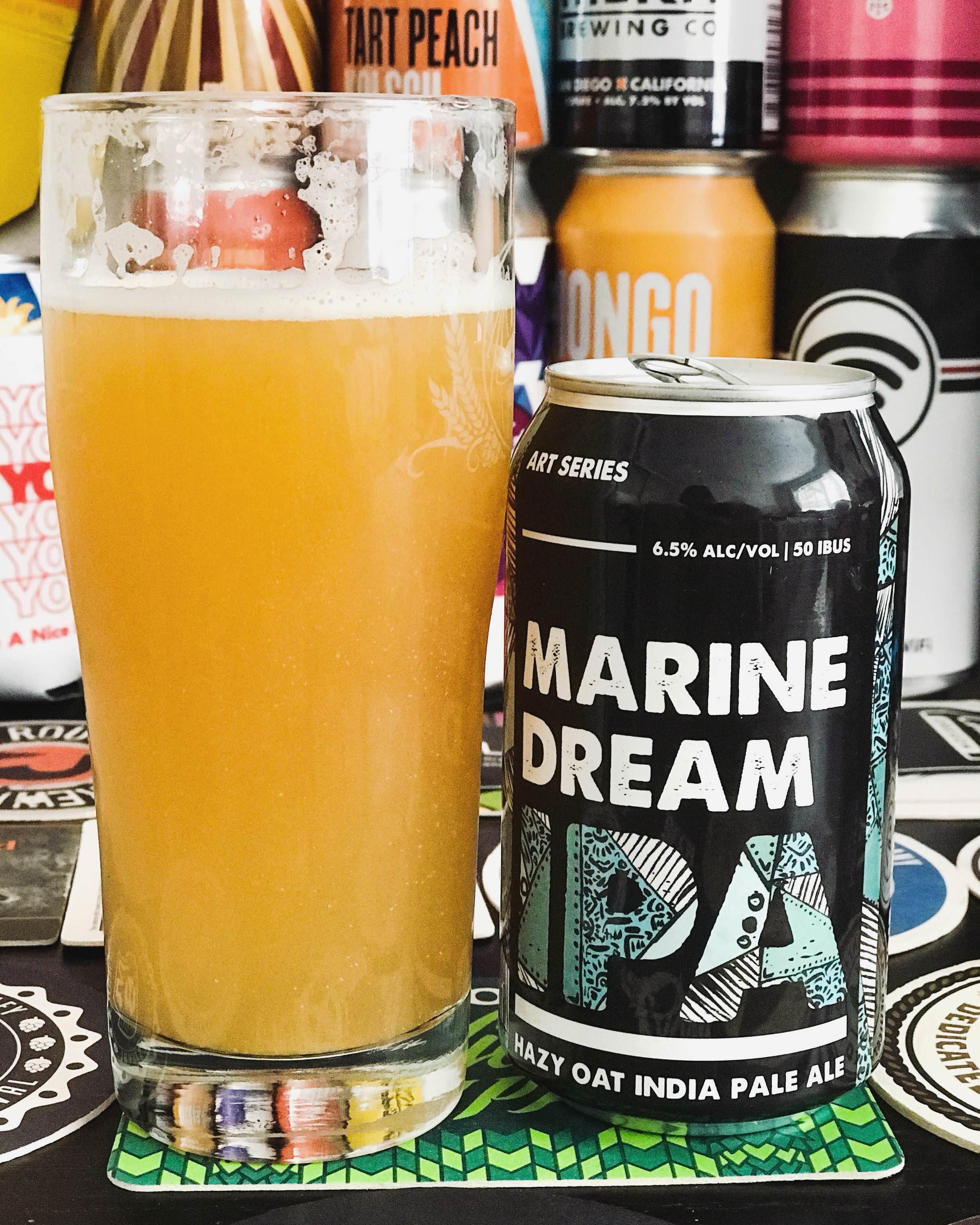 Marine Dream IPA from Coronado Brewing (con imágenes) | Cerveza ...
