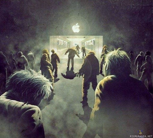 I admit, I'm one of those Apple zombies.