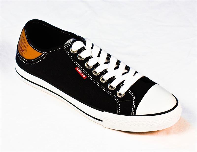 Levi's Stan Buck Canvas Sneaker Black