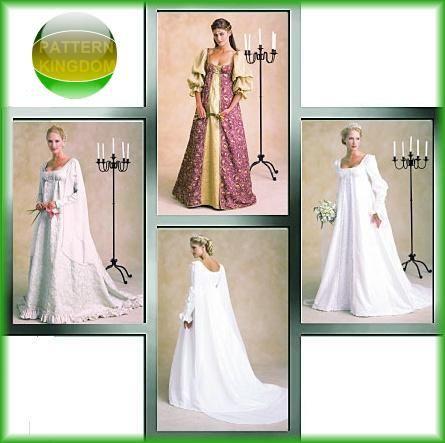 STUNNING Renaissance Wedding Dress Pattern   Clothing Patterns ...