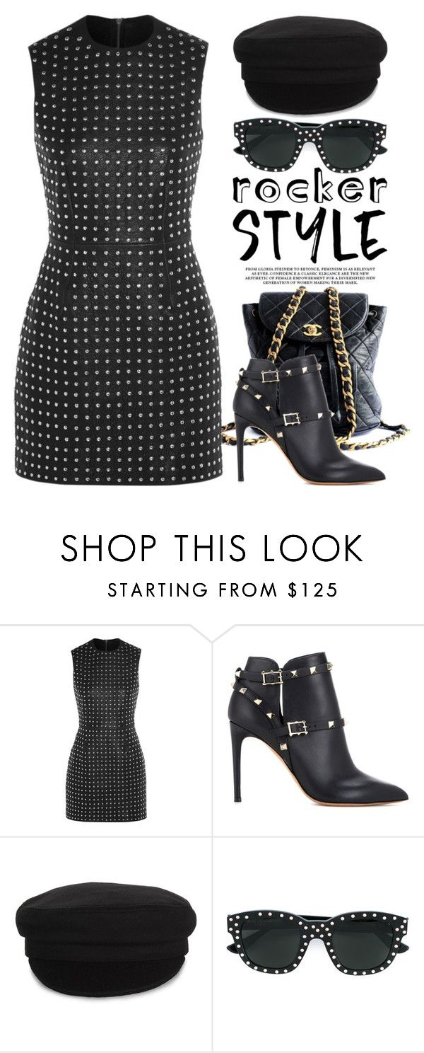 """""""Rocker Chic 1939"""" by boxthoughts ❤ liked on Polyvore featuring Chanel, McQ by Alexander McQueen, Valentino, Étoile Isabel Marant, Yves Saint Laurent, rockerchic and rockerstyle"""