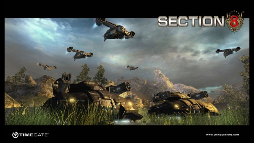 Image From Section 8 Section 8 Sci Fi Game Art
