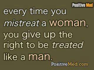To make a man feel less than a man