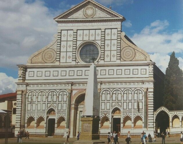 Santa maria novella alberti quattrocento renacimiento Arquitectura quattrocento caracteristicas