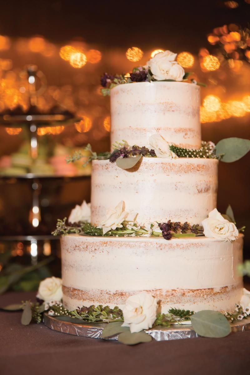David Hedley Iii Bryan Hancsin Wedding Cake From Martha S