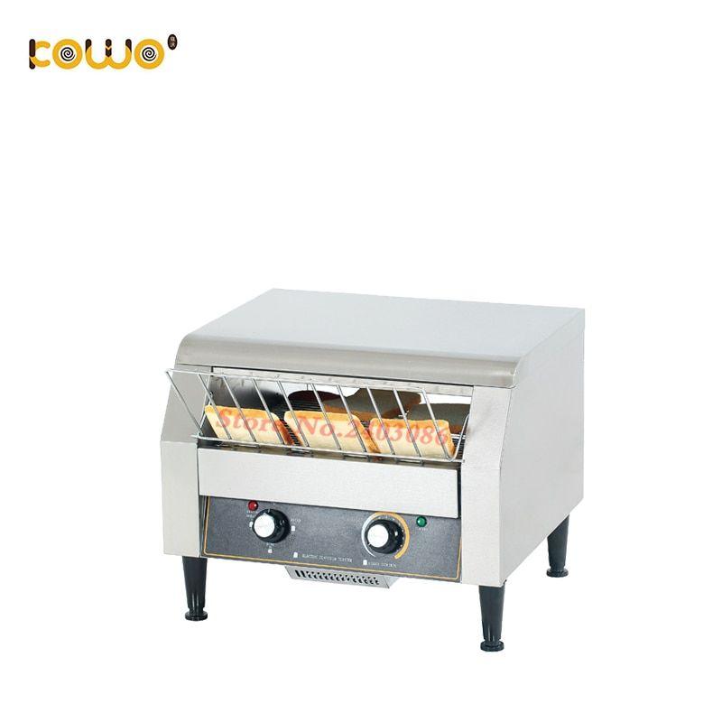 0d2d53cda ce 220v bakery electric bread toaster maker stainless steel conveyor  sandwich machine sandwich toaster grill kitchen appliances