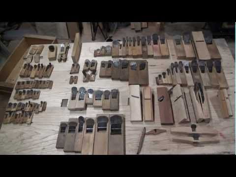Shrine carpenter Tool 「Hand Plane」 - YouTube