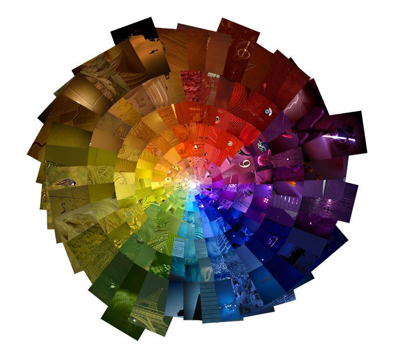 упростить картинки спектра красок всего