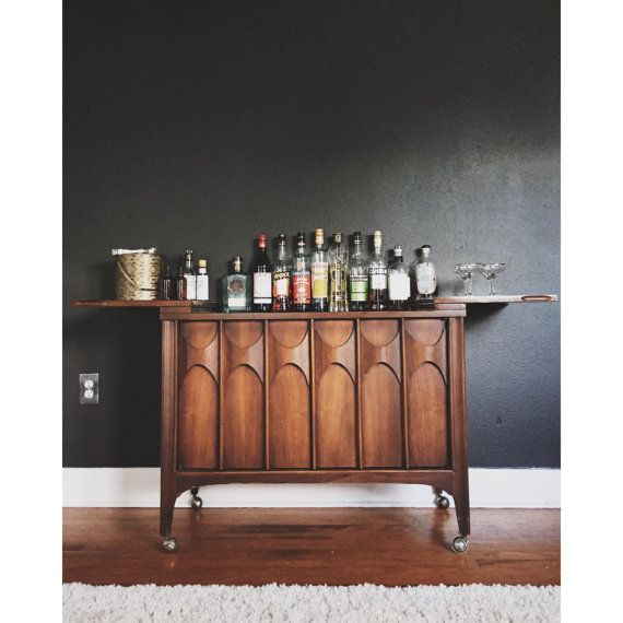 Mid Century Bar and Liquor Cabinet by Kent Coffey Perspecta by ...