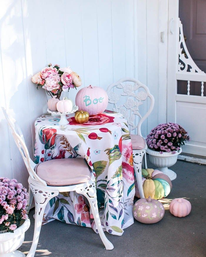 Cast Iron Outdoor Chair Makeover – at home with Ashley