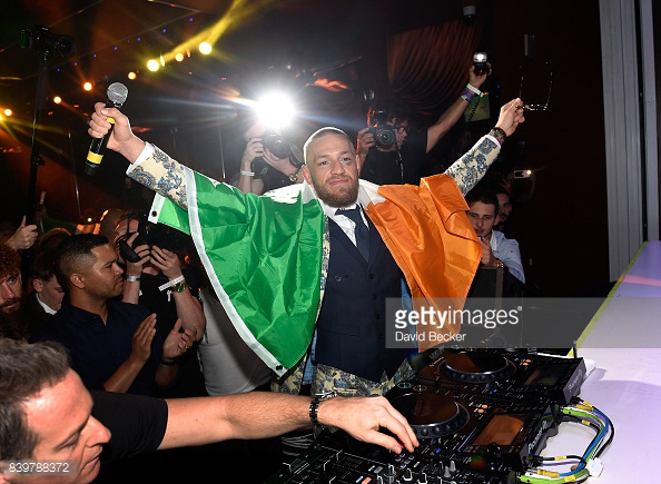 Pin On Conor Mcgregor After Party At Wynn Las Vegas
