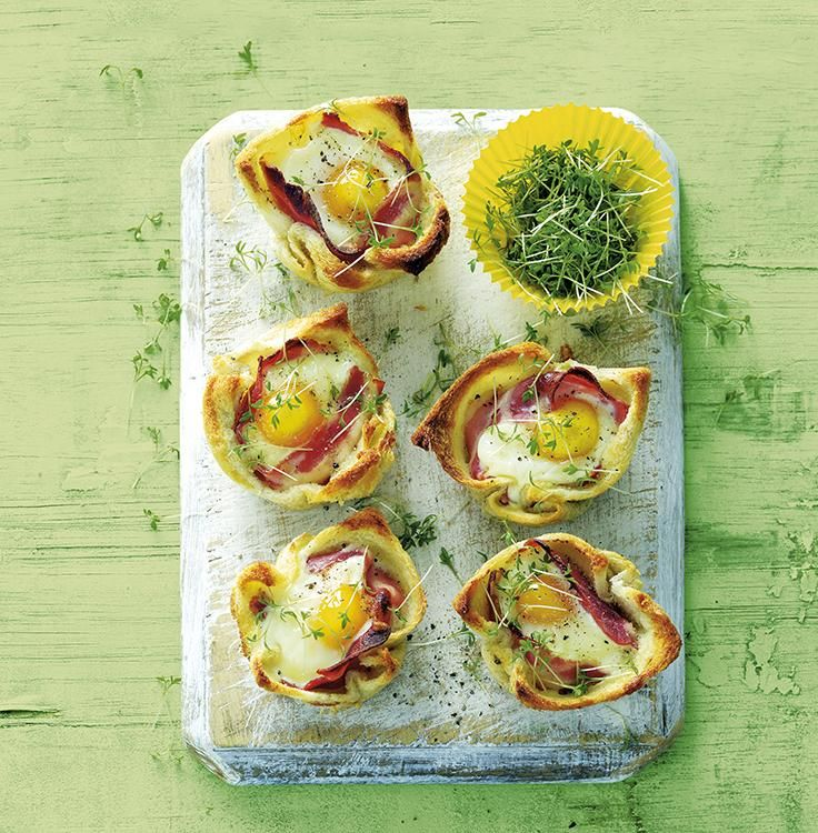 Bacon and Egg Mini Quiches | Savory