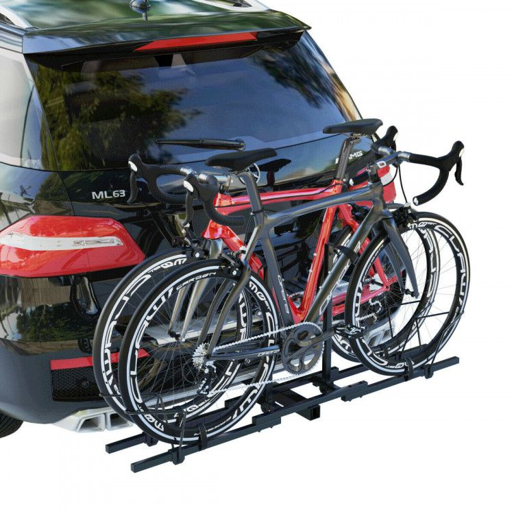 2 Heavy Duty 2 Bicycle Hitch Mount Carrier Bicycle Stands