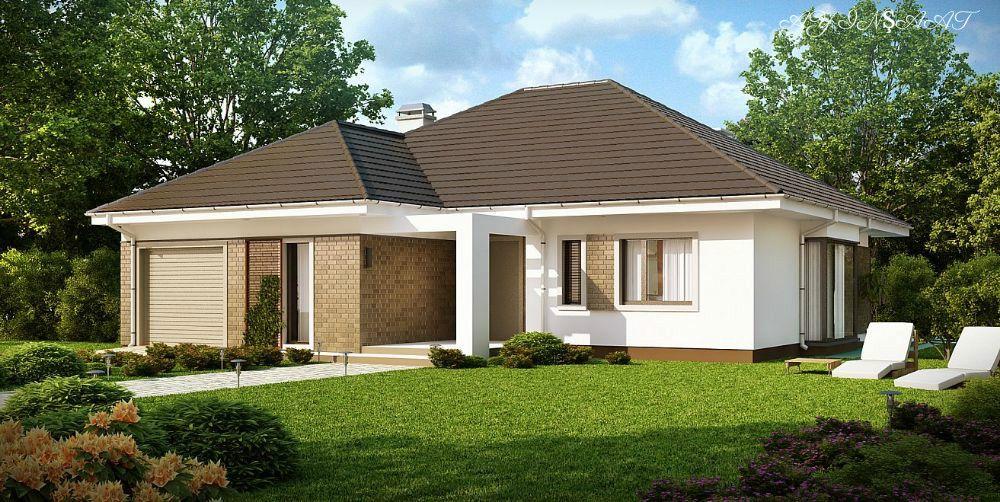 Torpaq Sizdən Evin Tikinti Təmir Və Dizayn Bizdən Layihə Olcusu 14 15 Qonaq Otagi 1 Yataq Otagi 4 Mətb House Exterior Simple House Design House Design