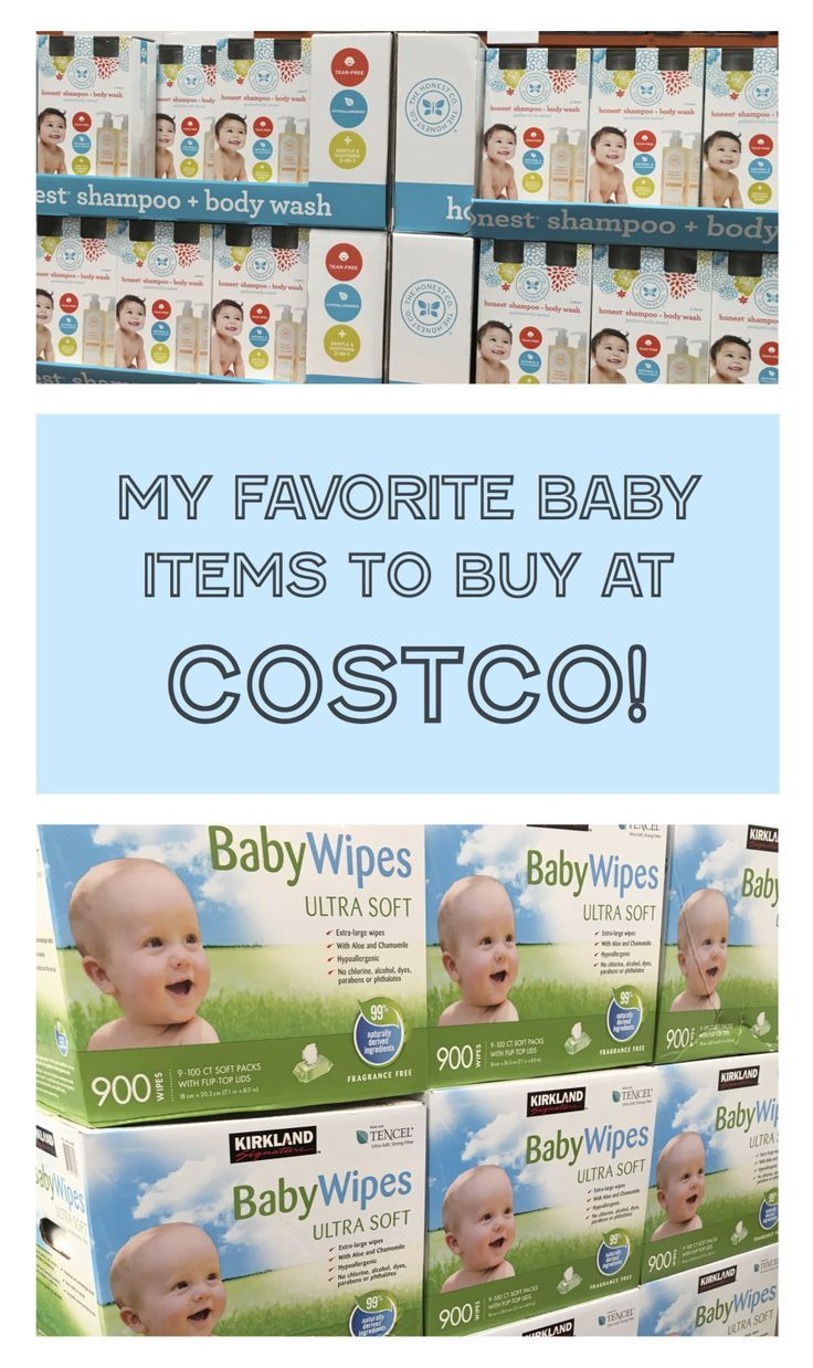 My Favorite BABY Items to Buy at Costco! | Bath products, Costco and ...