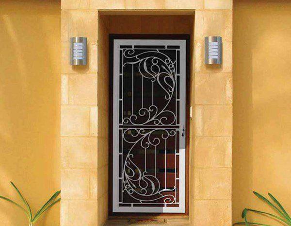 Décoratifs Portes Palières Matériaux Styles Designs Comment Choisir - Portes palières