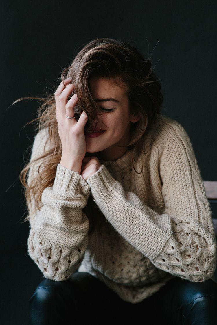fabulous knit sweater ///