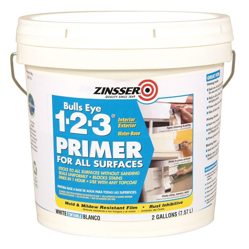 Zinsser Bulls Eye 123 2 Gal. White WaterBased Interior