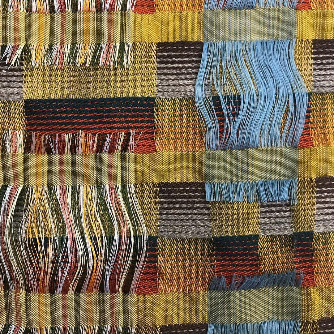 "Cara Wyatt on Instagram: ""#textiledesign #weaversofinstagram"""