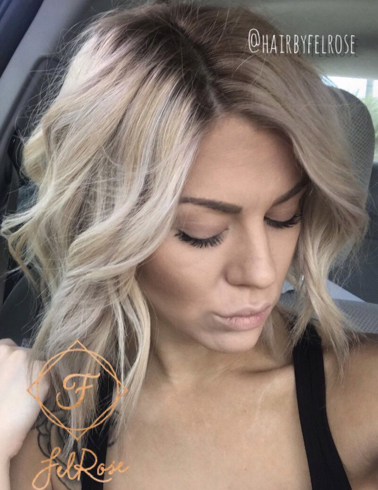 Blonde Bombshell Hair Platinum Blonde Hair Smudge Root Soft