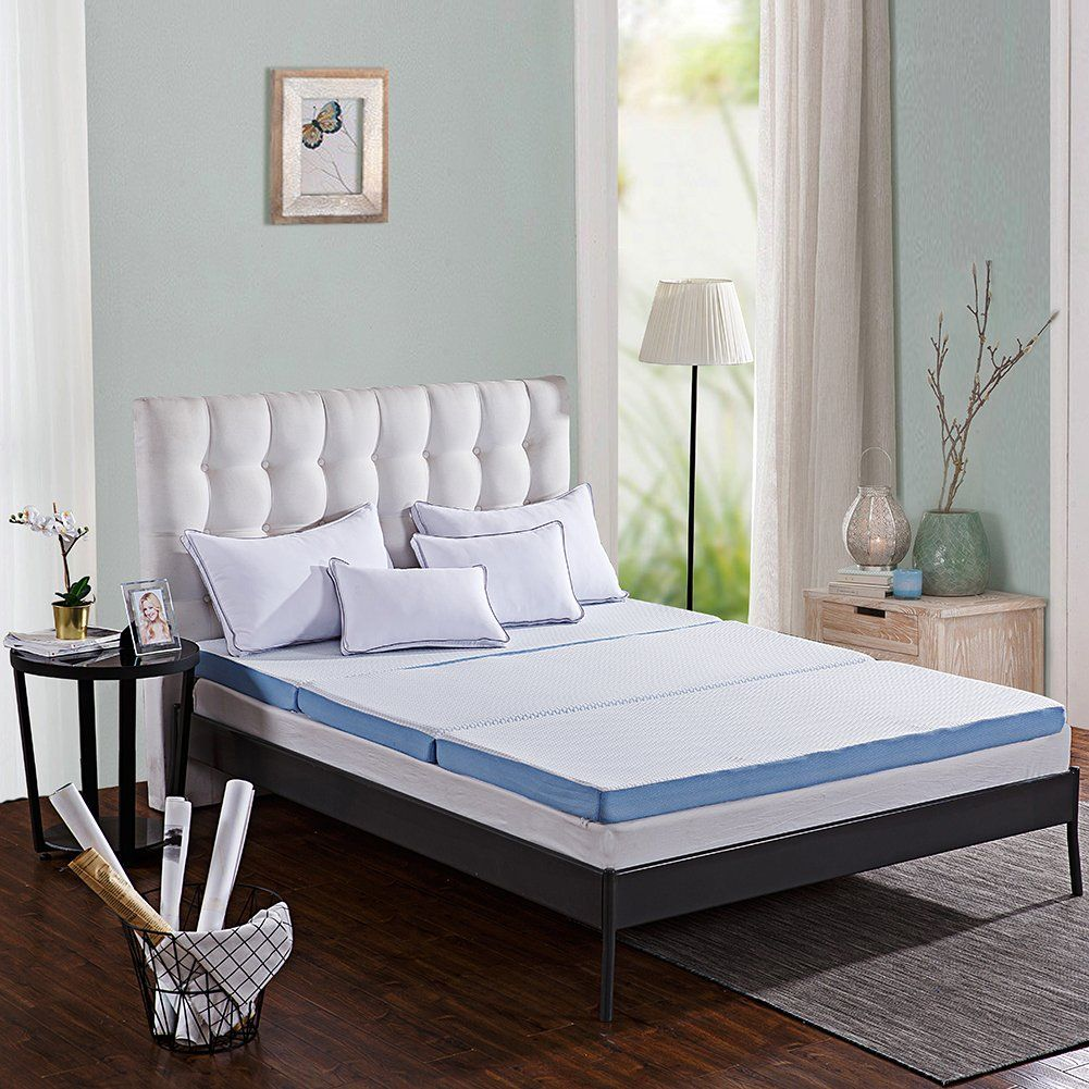 Comfort and Relax TriFolding Mattress Topper 3 AirCellTech
