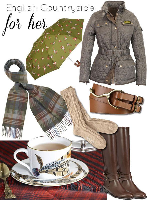 English Countryside Style For Fall Have To Dress Warm When Looking Hounds In Baskerville