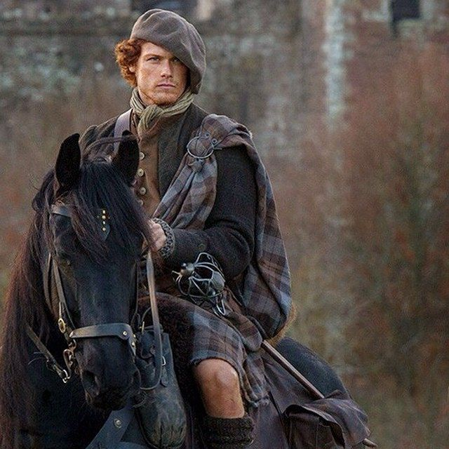 Do you watch Outlander? Have you noticed Jamie's