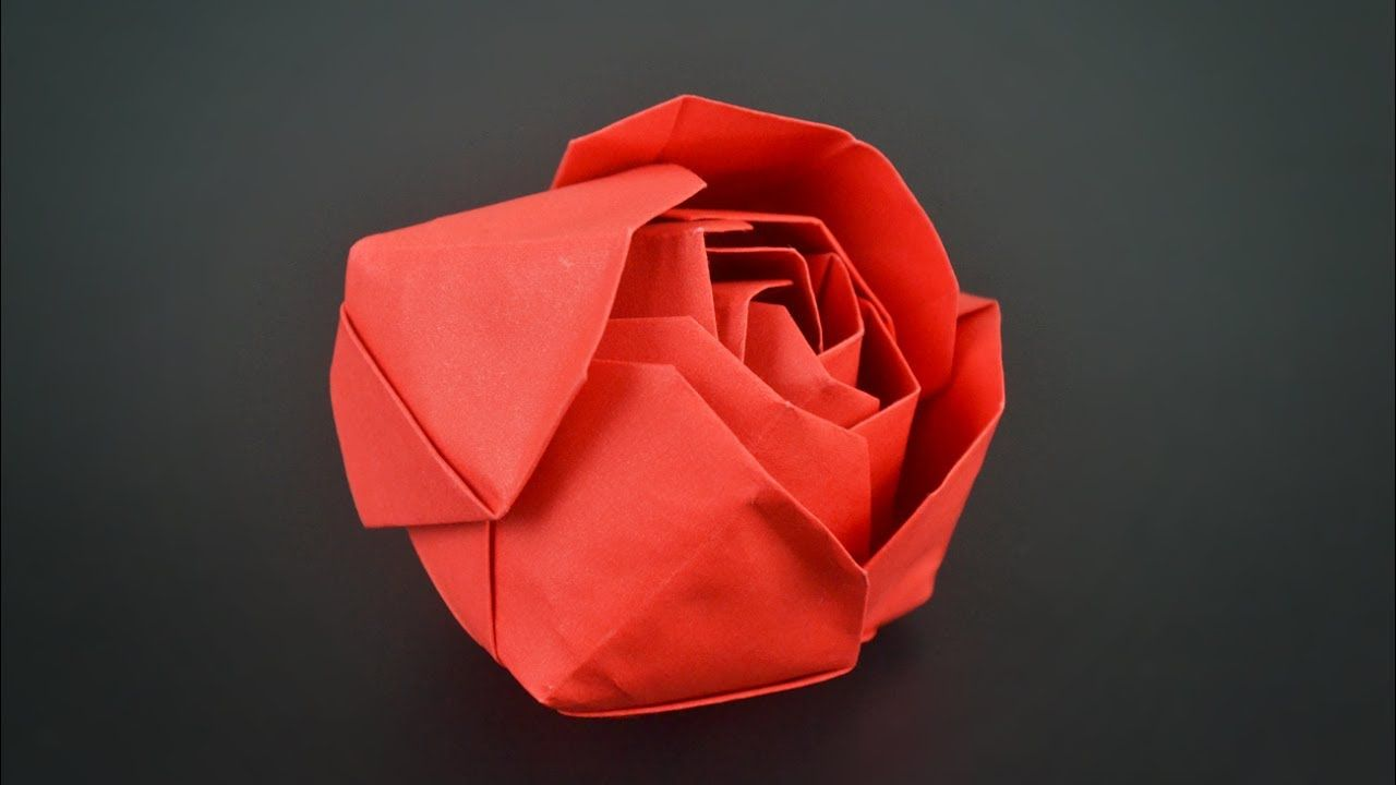 Previous Origami Rose Instructions Video Interframe Media