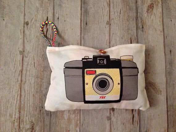 Play pretend CAMERA, retro camera PLUSHY, Camera purse, camera cushion, eco-friendly kids toy, girl #camerapurse
