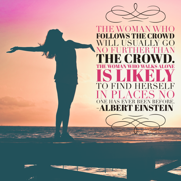 Stand Out From The Crowd Quotes