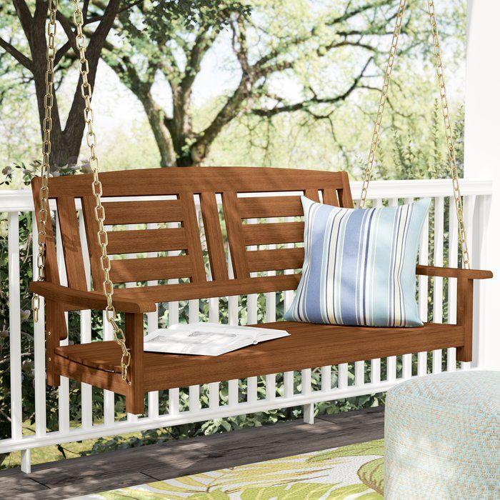 Etonnant Arianna Hardwood Hanging Porch Swing