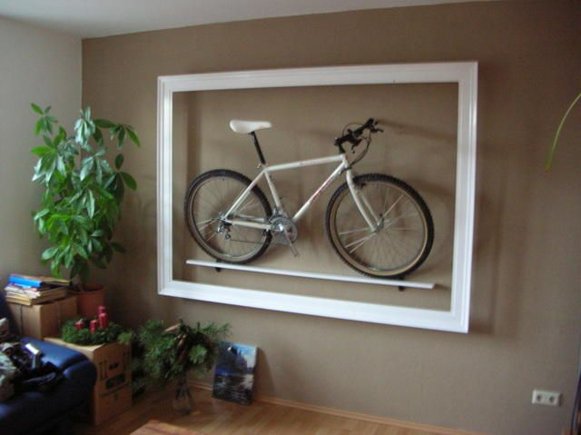 fahrrad in der wohnung aufh ngen google suche bike. Black Bedroom Furniture Sets. Home Design Ideas